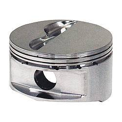 "JE Pistons - JE Pistons 18 Degree Flat Top Piston Forged 4.155"" Bore 1/16 x 1/16 x 3/16"" Ring Grooves - Minus 6.0 cc"