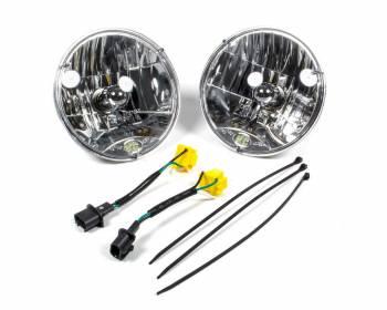 "KC HiLiTES - KC HiLiTES 7"" OD Headlight H4 Bulb Replacement Jeep Wrangler JK 2007-14 - Pair"