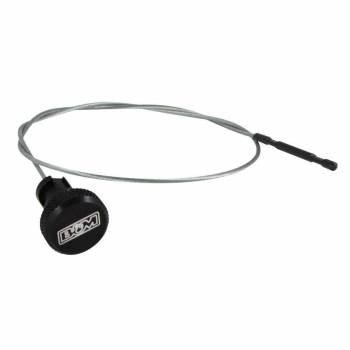 "B&M - B&M Locking Transmission Dipstick 33.8"" Long Aluminum/Steel Black Anodize/Natural - NAG-1"