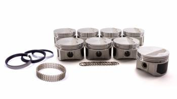 """ProTru by Wiseco - ProTru by Wiseco Windsor Flat Top Piston Forged 4.040"""" Bore 1/16 x 1/16 x 3/16"""" Ring Grooves - Minus 7.0 cc"""