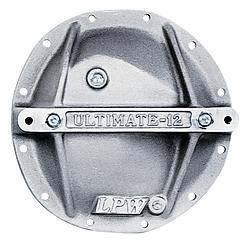 "Strange Engineering - Strange Engineering Ultra Support Differential Cover Hardware Included Aluminum Natural - GM 8.2/8.5"" 10 Bolt"