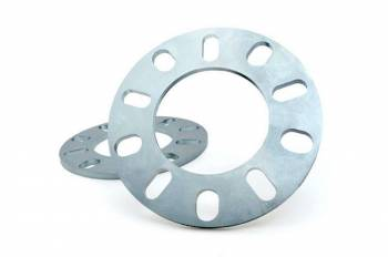 """Rough Country - Rough Country 5 x 5.50"""" Bolt Pattern Wheel Spacer 1/4"""" Thick Aluminum Natural - Pair"""