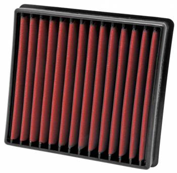 """AEM Induction Systems - AEM Induction Systems Dryflow Air Filter Element Panel 10-1/2 x 9-7/8"""" 2-3/16"""" Tall - Synthetic"""