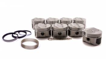 """ProTru by Wiseco - ProTru by Wiseco 23 Degree Dome Piston Forged 4.060"""" Bore 1/16 x 1/16 x 3/16"""" Ring Grooves - Plus 8.0 cc"""