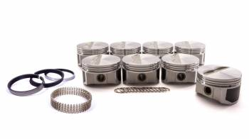 """ProTru by Wiseco - ProTru by Wiseco 23 Degree Flat Top Piston Forged 4.155"""" Bore 1/16 x 1/16 x 3/16"""" Ring Grooves - Minus 7.0 cc"""