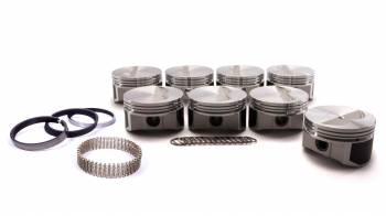 """ProTru by Wiseco - ProTru by Wiseco 23 Degree Flat Top Piston Forged 4.165"""" Bore 1/16 x 1/16 x 3/16"""" Ring Grooves - Minus 7.0 cc"""
