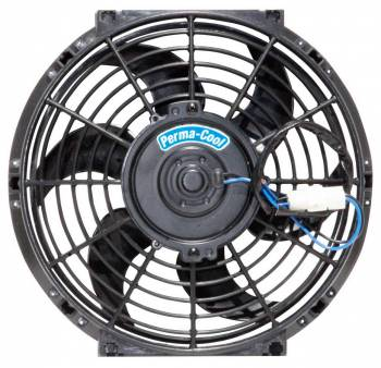 """Perma-Cool - Perma-Cool Standard Electric Cooling Fan 10"""" Fan Puller 1450 CFM - Curved Blade"""