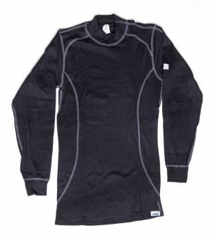 PXP RaceWear - PXP RaceWear Sport Cut Underwear Top SFI 3.3 Lenzing FR® Black - Small