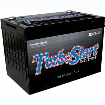 "TurboStart - Turbo Start Street/Race/Off-Road Battery 12 V 1000 Cranking Amps Top Post Screw"" Terminals - 10.250"" L x 7.250"" H x 6.750"" W"