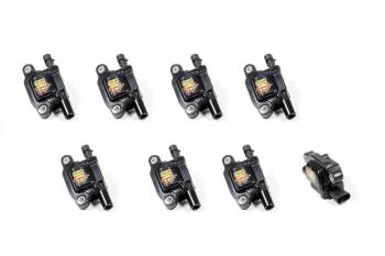 Taylor Cable Products - Taylor Cable Products ThunderVolt Ignition Coil Pack Coil-On-Plug Black GM LS-Series - Set of 8