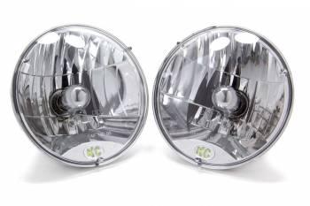 "KC HiLiTES - KC HiLiTES 7"" OD Headlight H4 Bulb Replacement Jeep Wrangler TJ 1997-2006 - Pair"