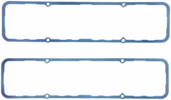 """Fel-Pro Performance Gaskets - Fel-Pro Performance Gaskets 0.250"""" Thick Valve Cover Gasket Steel Core Silicone Rubber Small Block Chevy - Set of 10"""