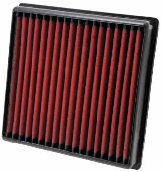 "AEM Induction Systems - AEM Induction Systems Dryflow Air Filter Element Panel 9-3/16 x 9"" 1-5/8"" Tall - Synthetic"