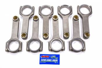 "Scat Enterprises - Scat Enterprises H Beam Connecting Rod 6.760"" Long Bushed 7/16"" Cap Screws - Forged Steel"