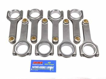 "Scat Enterprises - Scat Enterprises Pro Sport Connecting Rod H Beam 6.125"" Long Bushed - 7/16"" Cap Screws"