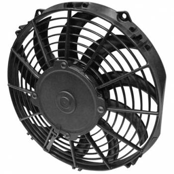 "SPAL Advanced Technologies - SPAL Advanced Technologies Low Profile Electric Cooling Fan 10"" Fan Pusher 844 CFM - Curved Blade"