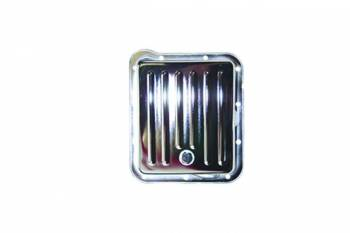 Specialty Chrome - SPECIALTY CHROME Stock Depth Transmission Pan Finned Steel Chrome - C4