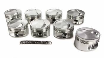 """JE Pistons - JE Pistons Big Block Inverted Dome Piston Forged 4.500"""" Bore 1/16 x 1/16 x 3/16"""" Ring Grooves - Minus 11.5 cc"""