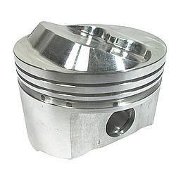 "Sportsman Racing Products - Sportsman Racing Products BBC Small Dome Profile Piston Forged 4.500"" Bore 1/16 x 1/16 x 3/16"" Ring Grooves - Plus 17.0 cc"