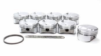 "Sportsman Racing Products - Sportsman Racing Products BBC Small Dome Profile Piston Forged 4.530"" Bore 1/16 x 1/16 x 3/16"" Ring Grooves - Plus 10.0 cc"