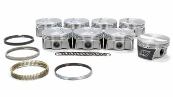"""Wiseco - Wiseco Strutted High Strength Piston and Ring Forged 4.030"""" Bore 1.2 x 1.2 x 3.0 mm Ring Groove - Minus 5.7 cc"""
