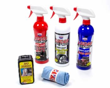 Lucas Oil Products - Lucas Oil Products Slick Mist Detailer 1 Interior Detailer/1 Tire and Trim Shine/1 Speed Wax