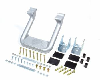 Carr - Carr Hoop II Step Bars Mount Kit Included Aluminum Silver Powder Coat - Various Applications