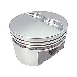 """Sportsman Racing Products - Sportsman Racing Products 440 Big Block Wedge Piston Forged 4.375"""" Bore 1/16 x 1/16 x 3/16"""" Ring Grooves - Minus 6.0 cc"""