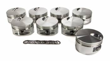"JE Pistons - JE Pistons 460 Flat Top Piston Forged 4.440"" Bore 1/16 x 1/16 x 3/16"" Ring Grooves - Minus 3.0 cc"