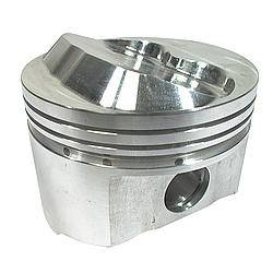 "Sportsman Racing Products - Sportsman Racing Products BBC Small Dome Profile Piston Forged 4.280"" Bore 1/16 x 1/16 x 3/16"" Ring Grooves - Plus 17.0 cc"