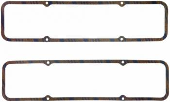"Fel-Pro Performance Gaskets - Fel-Pro Performance Gaskets 0.313"" Thick Valve Cover Gasket Steel Core Cork/Rubber Laminate Small Block Chevy - Set of 10"