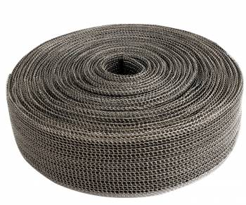 "Design Engineering - Design Engineering Exo Series Exhaust Wrap 1-1/2"" Wide 30 ft Roll Woven Fiberglass - Black"