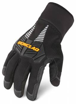 Ironclad Performance Wear - Ironclad Shop Gloves Cold Condition Tundra Insulated/Reinforced Fingertips and Palm Nylon Closure - Nylon