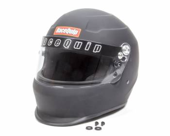 RaceQuip - RaceQuip PRO15 Side Air Helmet Full Face Snell SA 2015 Head and Neck Support Ready - Flat Black
