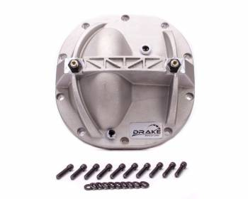 "Drake Automotive Group - DRAKE AUTOMOTIVE GROUP Hardware Included Differential Cover Aluminum Natural Ford 8.8"" - Ford Mustang 2005-12"