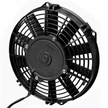 "SPAL Advanced Technologies - SPAL Advanced Technologies Low Profile Electric Cooling Fan 9"" Fan Puller 625 CFM - 24V"