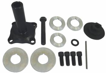 "Moroso Performance Products - Moroso Performance Products 3-1/2"" Long Mandrel Crank Mandrel Drive Kit Guides/Hardware/Spacers Aluminum Black Anodize - Small Block Ford"
