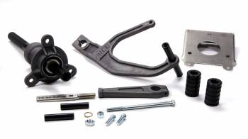 AFCO Racing Products - AFCO Racing Products Gas Pedal Assembly Adjustable 15 Degree Under Dash Mount Aluminum - Black Anodize