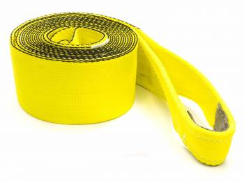 "Tuflex - Tuflex 4"" Wide Tow Strap 20 ft Long 30,000 lb Capacity Nylon - Yellow"