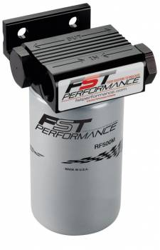 FST Performance - Fst Performance FloMax 500 Fuel Filter Canister 3 Micron Stainless Element - 12 AN Female Inlet/Outlet