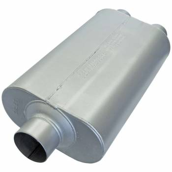 """Flowmaster - Flowmaster 50 Series HD Muffler 3"""" Center Inlet 2-1/2"""" Dual Outlets 17 x 9-3/4 x 4"""" Oval Body - 23"""" Long"""