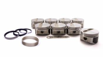 """ProTru by Wiseco - ProTru by Wiseco 23 Degree Flat Top Piston Forged 4.060"""" Bore 1/16 x 1/16 x 3/16"""" Ring Grooves - Minus 7.0 cc"""