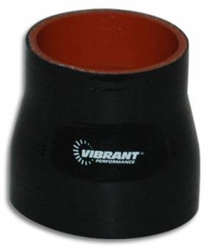 "Vibrant Performance - Vibrant Performance Straight Tubing Coupler Reducer 2-1/4"" to 2-1/2"" ID 3"" Long - Silicone"