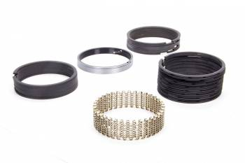"""Hastings - Hastings 3.2475"""" Bore Piston Rings 3/32 x 3/32 x 3/16 x 3/16"""" Thick Standard Tension Iron - 8 Cylinder"""