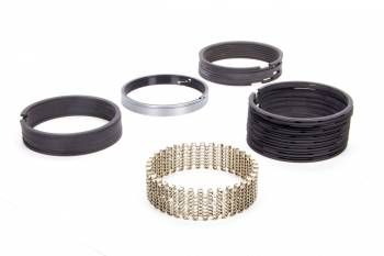 """Hastings - Hastings 3.1875"""" Bore Piston Rings 3/32 x 3/32 x 3/16 x 3/16"""" Thick Standard Tension Iron - 8 Cylinder"""