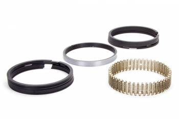 """Hastings - Hastings 4.155"""" Bore Piston Rings 5/64 x 5/64 x 3/16"""" Thick Standard Tension Iron - 8 Cylinder"""