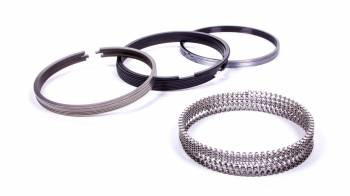 "JE Pistons - JE Pistons Pro Steel Series Piston Rings 4.030"" Bore File Fit 1.2 x 1.5 x 3.0 mm Thick - Standard Tension"