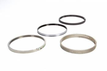 """Wiseco - Wiseco 4.600"""" Bore Piston Rings File Fit 0.043 x 0.043 x 3.0 mm Thick Standard Tension - Plasma Moly"""