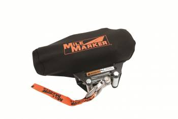 Mile Marker - Mile Marker Vinyl Winch Cover Black - Mile Marker 2500 to 3500 lb Electric Winches