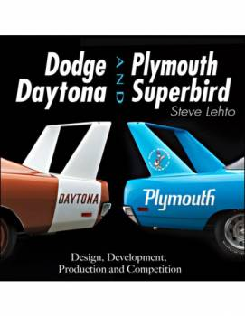 S-A Design Books - S-A Design Books Dodge Daytona and Plymouth Superbird Book 204 Pages - Hard Cover